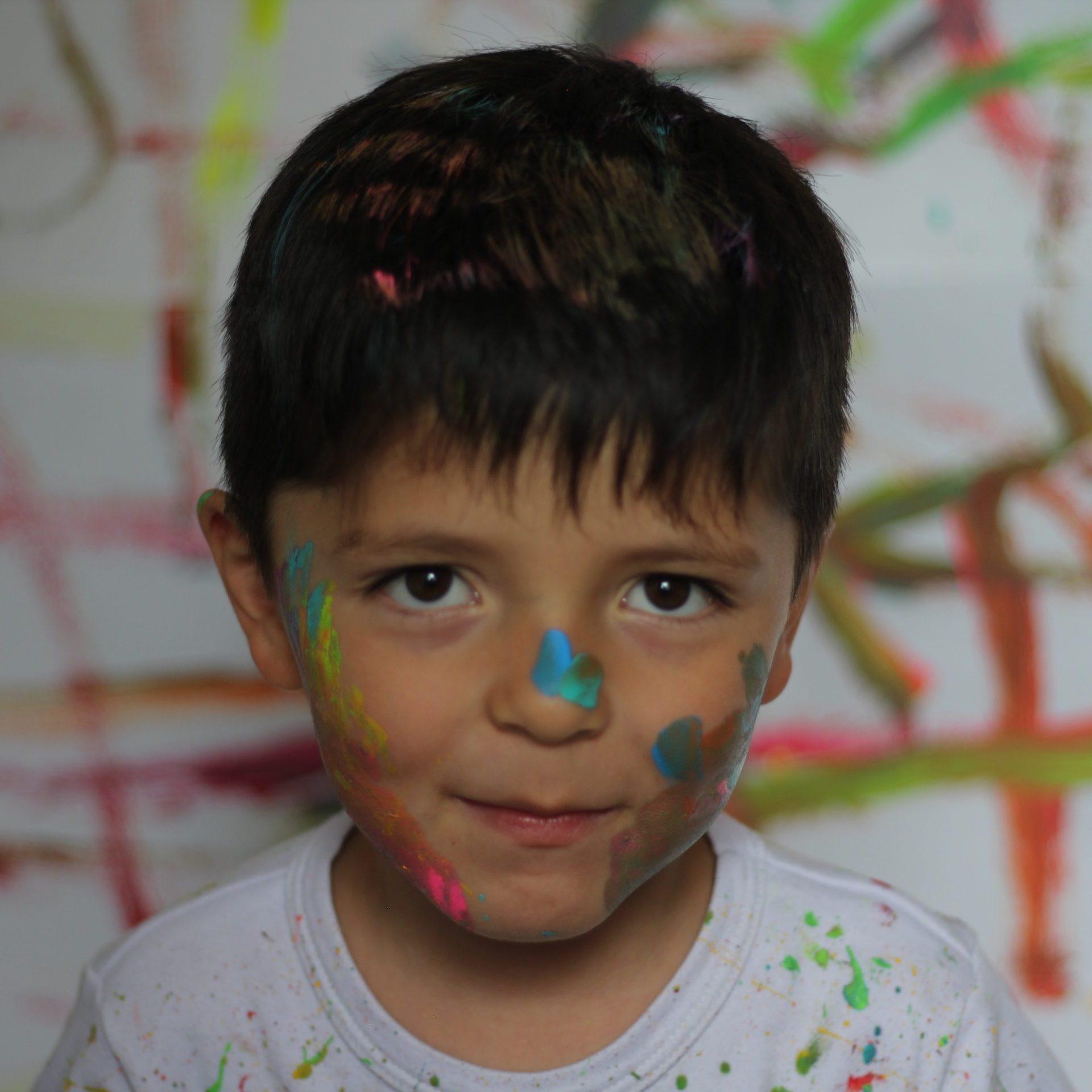 A pintar con tus hijos